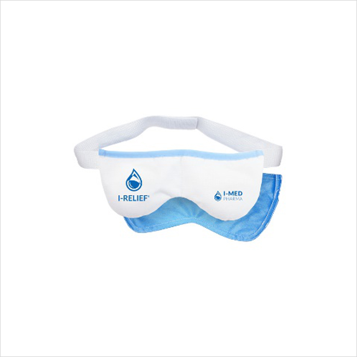 I-RELIEF HOT & COLD THERAPY EYE MASK WITH THERMABEADS